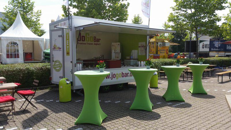Frozen Yogurt mieten - Ganz einfach frisch und lecker mit JoGoBar.de